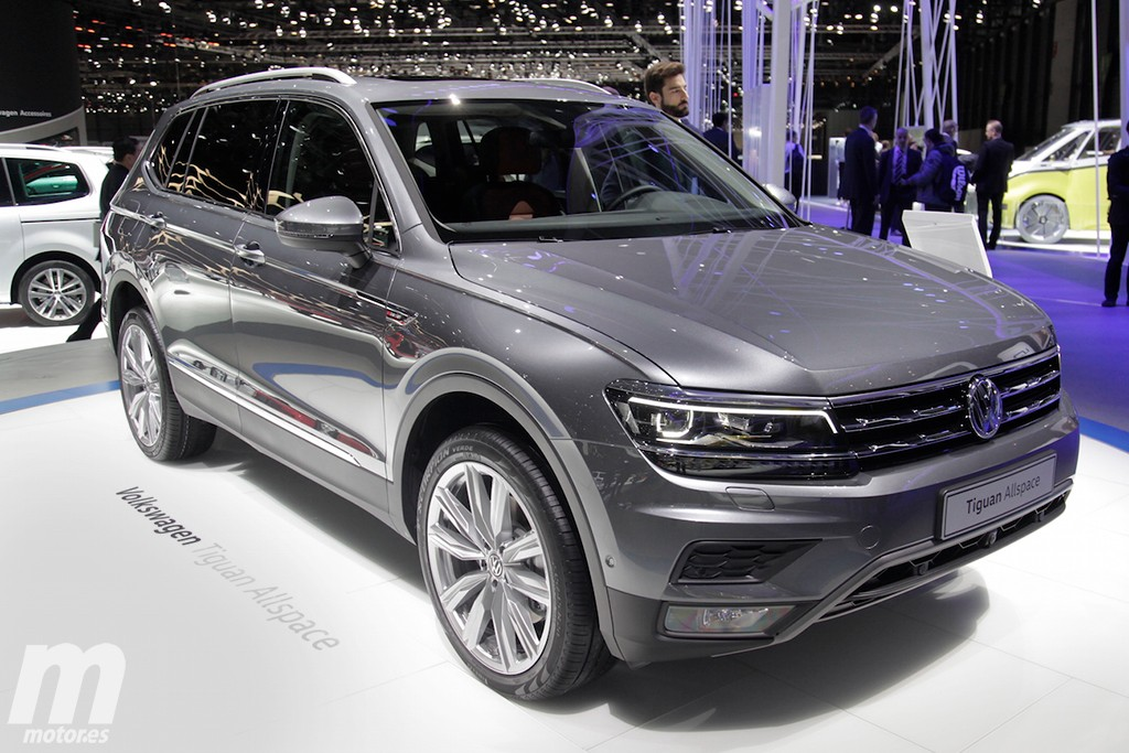 volkswagen tiguan allspace la variante de siete plazas ya es una realidad. Black Bedroom Furniture Sets. Home Design Ideas