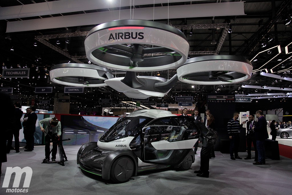airbus pop up el coche volador de airbus e italdesign. Black Bedroom Furniture Sets. Home Design Ideas