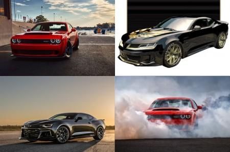 Demon vs The Exorcist vs Trans Am Super Duty: los últimos y más radicales Muscle cars