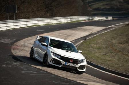 Honda Civic Type-R: nuevo récord en Nürburgring para vehículos de tracción delantera