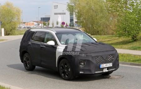 Hyundai Santa Fe 2019: la nueva generación del SUV sigue sus pruebas