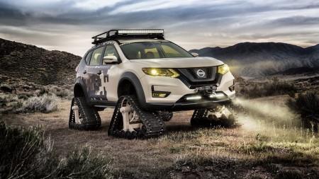 Nissan Rogue Trail Warrior Project: el X-Trail americano se prepara para un apocalipsis