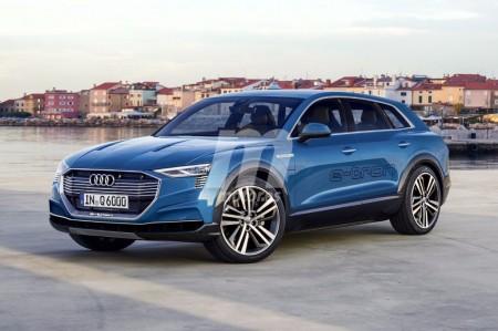 Audi e-tron quattro: así será el primer SUV eléctrico de la marca de los cuatro aros