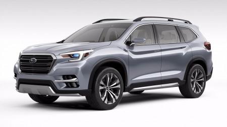 El Subaru Ascent SUV Concept nos anticipa un nuevo SUV de siete plazas