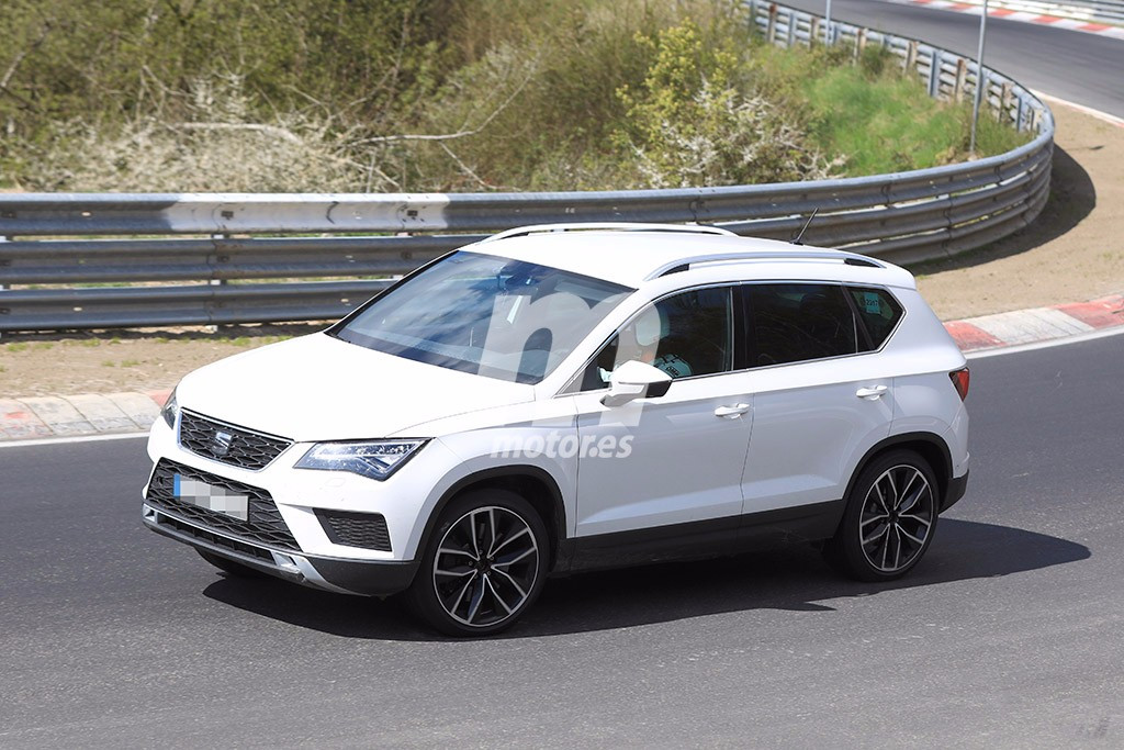 confirmado ste s es el nuevo seat ateca cupra y tiene 300 cv. Black Bedroom Furniture Sets. Home Design Ideas
