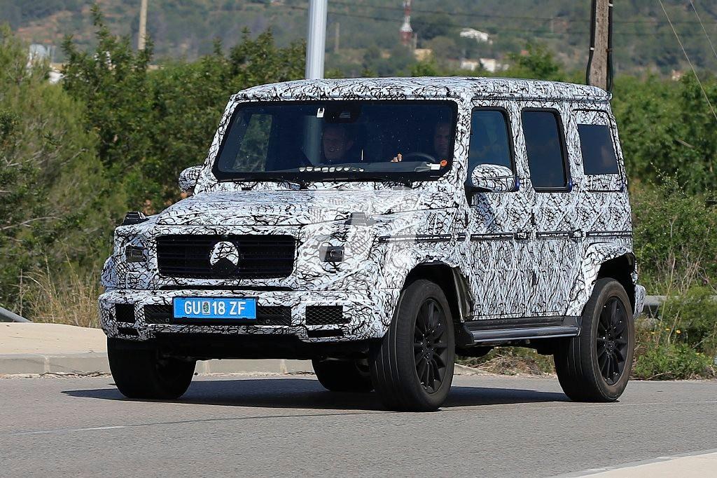 Mercedes Clase G 2018: nuevas imágenes de la próxima ...
