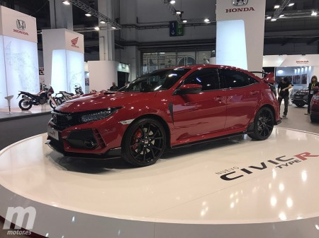 El nuevo Honda Civic Type-R se estrena en nuestro país en el Automobile Barcelona