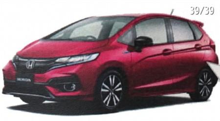 Honda Jazz 2017: filtradas las primeras imágenes del facelift del utilitario nipón