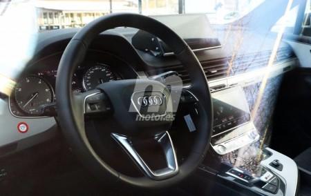 Audi Q8 2018: nos asomamos por primera vez a su interior