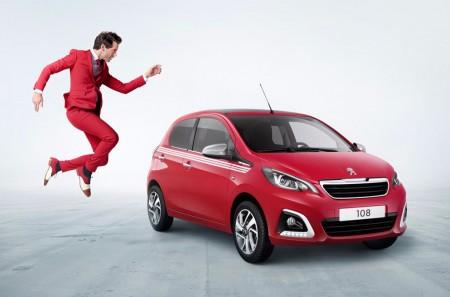 Peugeot 108 Collection: más equipamiento y el sello del cantante Mika