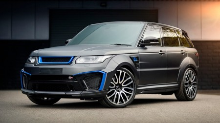 Range Rover Sport SVR Pace Car: lujo y rendimiento por casi 150.000 euros
