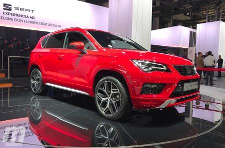 El nuevo SEAT Ateca FR irrumpe en el Automobile Barcelona 2017