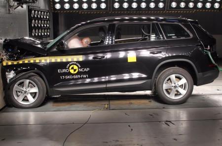 Skoda Kodiaq: el nuevo SUV obtiene 5 estrellas en las pruebas Euro NCAP