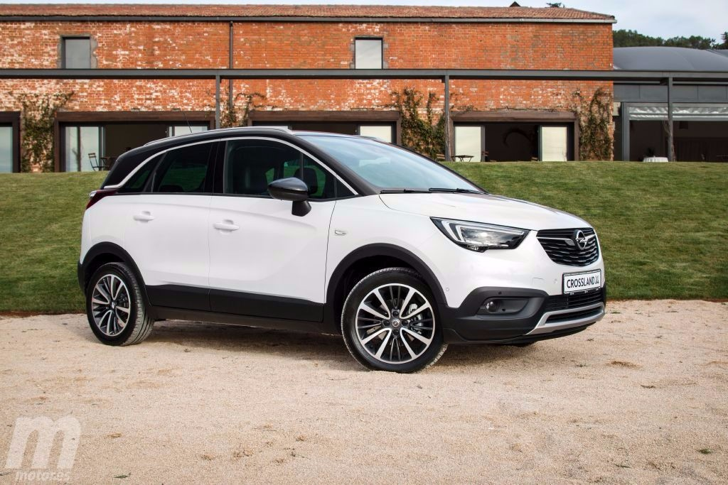 opel crossland x todos los precios y su gama en espa a al detalle. Black Bedroom Furniture Sets. Home Design Ideas