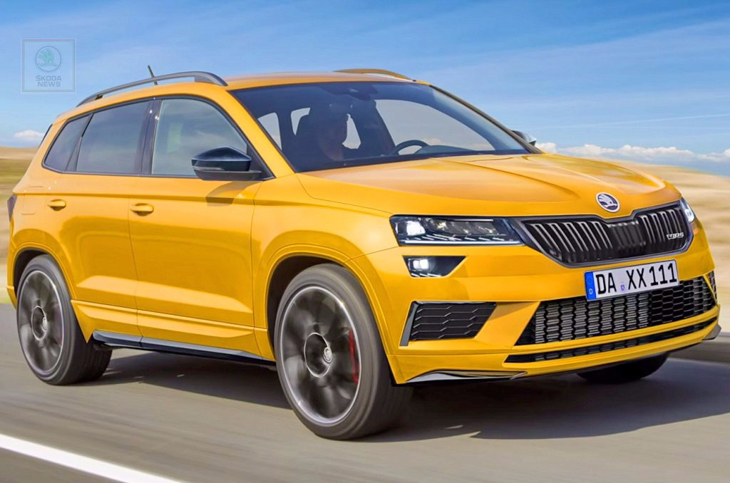skoda karoq rs la marca deja la puerta abierta al rival del seat ateca cupra. Black Bedroom Furniture Sets. Home Design Ideas