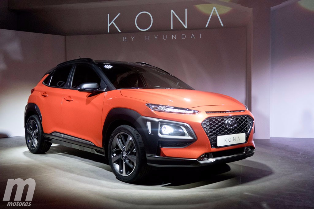Hyundai Kona, presentación en Milán del nuevo B-SUV asiático - Motor.es
