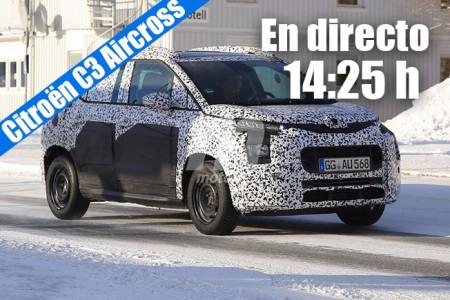 Citroën C3 Aircross 2018: sigue en directo la presentación del nuevo SUV francés