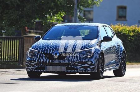 El nuevo Renault Mégane RS 2018 se ofertará con dos chasis y tendrá 4Control