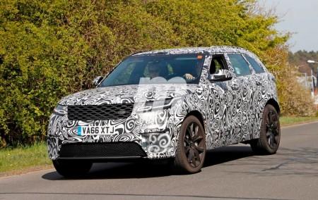 Así suena el Range Rover Velar SVR a su paso por Nürburgring