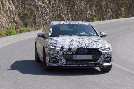 El nuevo Audi A7 Sportback 2018 durante sus pruebas en video