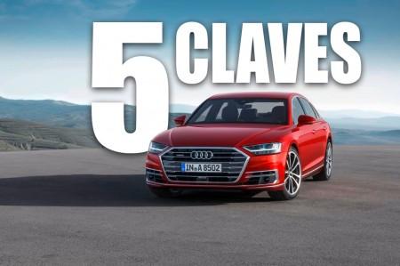 Las 5 claves del Audi A8 2018: la cuarta generación ya es una realidad