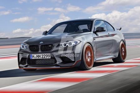 Te anticipamos el diseño del BMW M2 CS 2018: la bestia que se está fraguando