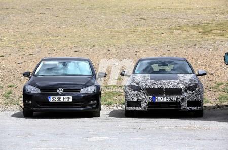 BMW Serie 1 2019 vs Volkswagen Golf, así serán las medidas del futuro utilitario alemán