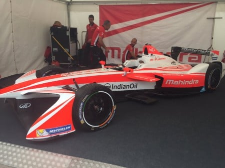 El Mahindra M4Electro deja su sello en Goodwood