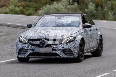 Mercedes E 55 AMG 4MATIC 2018: cazamos la nueva versión deportiva