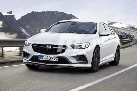 Opel Insignia OPC 2018: así será la nueva versión deportiva del Insignia