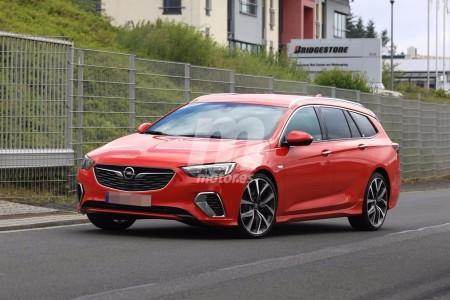 Opel Insignia Sports Tourer GSi 2018: la carrocería familiar tendrá versión GSi