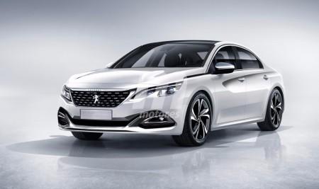 Peugeot 508: así de deportivo será el diseño del nuevo sedán francés
