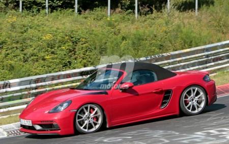 El nuevo Porsche Boxster GTS completamente al desnudo