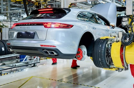 El nuevo Porsche Panamera Sport Turismo ya está siendo producido en serie
