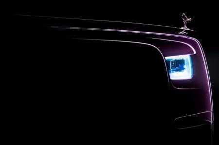 Anticipo del Rolls-Royce Phantom 2018: desvelado parte de su frontal