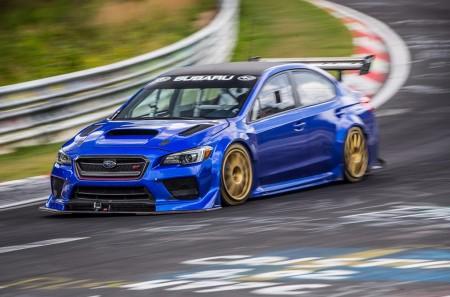 Subaru WRX STI Type RA NBR: el coche de 4 puertas más rápido en Nürburgring