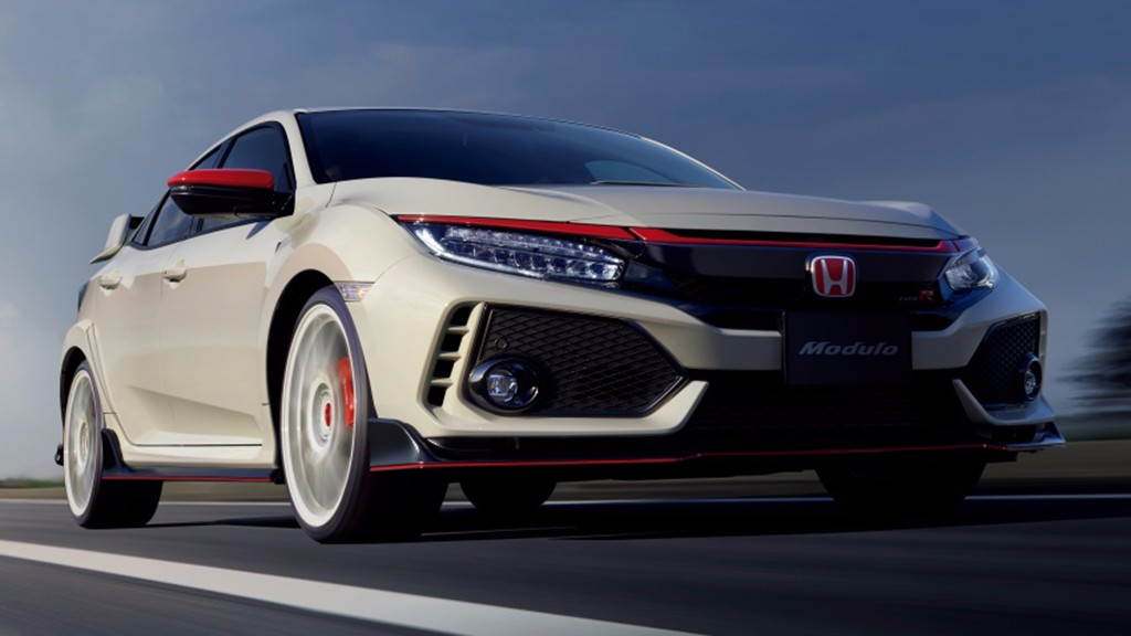 el nuevo honda civic type r 2017 estrena gama de accesorios en jap n. Black Bedroom Furniture Sets. Home Design Ideas
