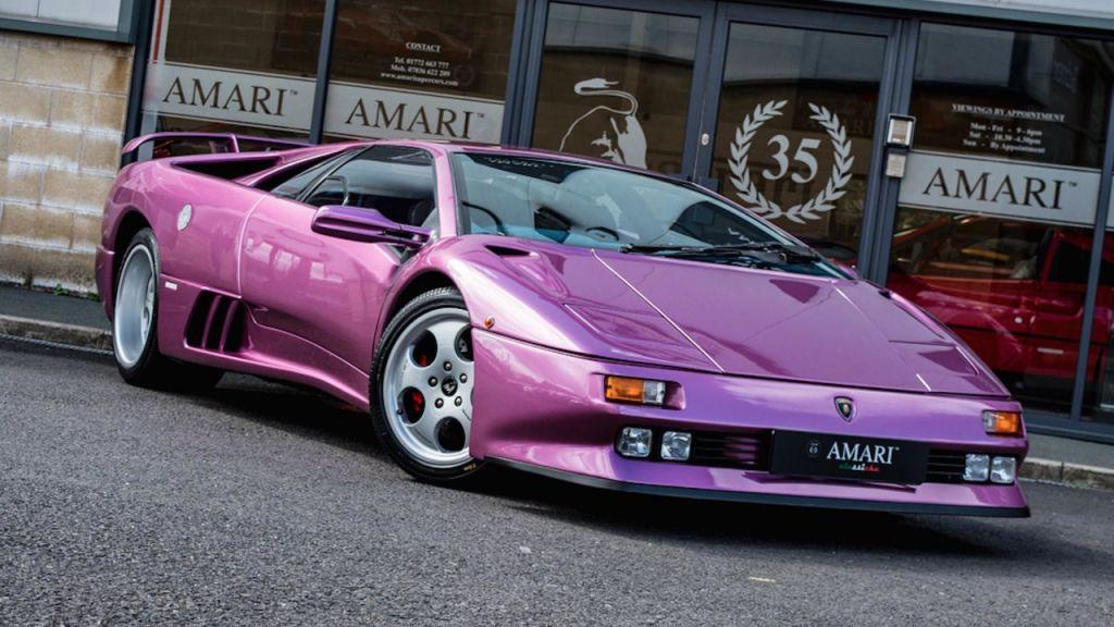 Lamborghini Diablo Se30 Del Video Cosmic Girl De Jamiroquai Motor Es