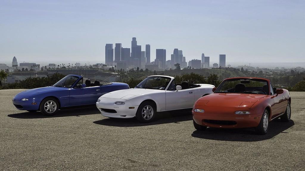 Mazda Restaurar Unidades Del Mx 5 Na En Jap N