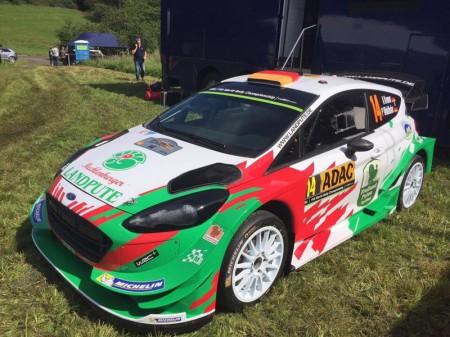 Armin Kremer vivirá un gran debut en el Rally de Alemania