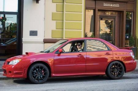 A subasta el Subaru WRX de Baby Driver: de la gran pantalla, a tu garaje