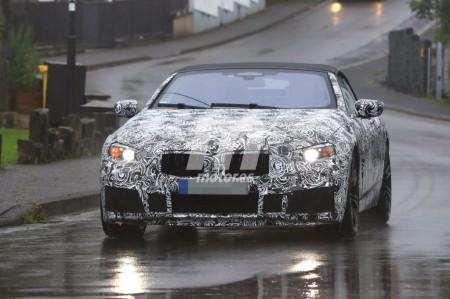 BMW M8 Cabrio: primeras imágenes del M8 descapotable