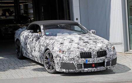 El nuevo BMW M8 Cabrio con más detalle durante sus pruebas