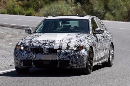 Cazado el BMW 325e iPerformance 2019: la versión híbrida enchufable del Serie 3