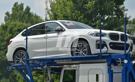El nuevo BMW X4 2018 cazado totalmente al descubierto