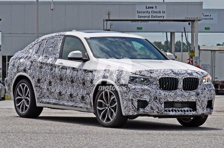 BMW X4 M 2018: primeras fotos del X4 más deportivo y extremo