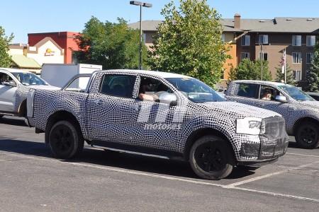 Ford Ranger 2019: cazada la nueva versión Wildtrack