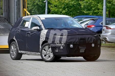 Hyundai Kona EV: primeras fotos espía de la versión 100% eléctrica