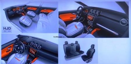 Dacia Duster 2018: unas ilustraciones nos adelantan cómo será el interior