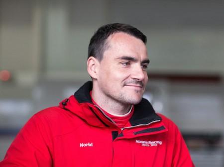 Test de Michelisz con el Honda Civic WTCC en Valencia